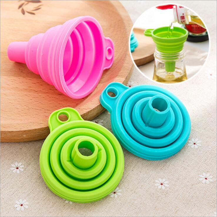 Just Kitchen Gadgets Folding Funnels2