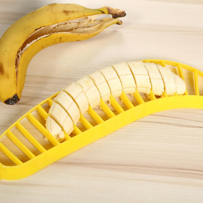Just Kitchen Gadgets Plastic Banana Slicer4 1